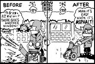 winter comic