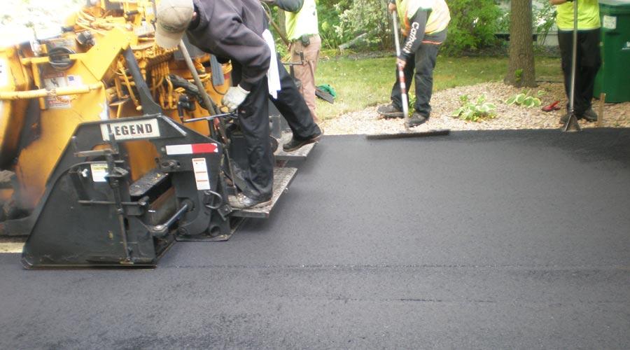 Blacktop Driveway Repair